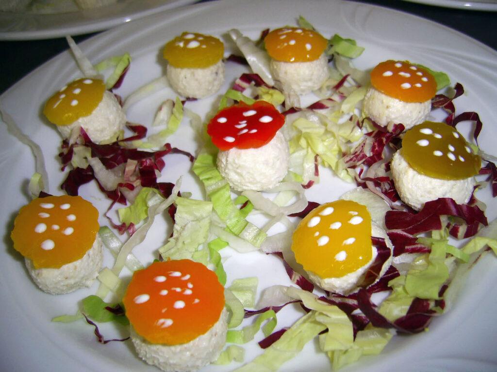 """Mousse di formaggio """"sottobosco"""""""
