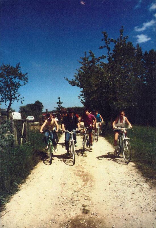 le prime gite in bicicletta